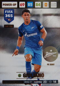 UPDATE 2017 FIFA 365 WINTER STAR GIULIANO #132