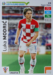 ROAD TO EURO 2020 TEAM MATE Luka Modrić  24