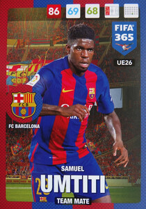 UPDATE 2017 FIFA 365 TEAM MATE Samuel Umtiti #26