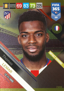 2019 FIFA 365 FANS IMPACT SIGNING  LEMAR 30