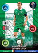 ROAD TO EURO 2016 TEAM MATE John O'Shea #110