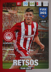 UPDATE 2017 FIFA 365 TEAM MATE RETSOS #49