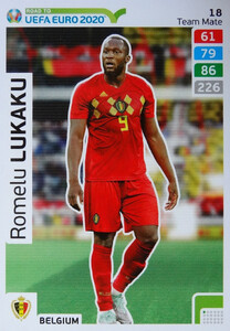 ROAD TO EURO 2020 TEAM MATE Romelu Lukaku 18