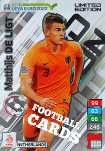 ROAD TO EURO 2020 LIMITED Matthijs de Ligt