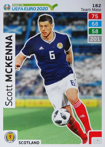 ROAD TO EURO 2020 TEAM MATE Scott McKenna 182