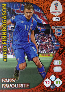 WORLD CUP RUSSIA 2018 FANS FAVOURITE FINNBOGASON 379