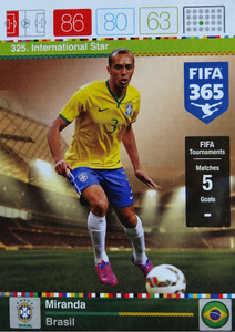 2016 FIFA 365 INTERNATIONAL STAR Miranda #325