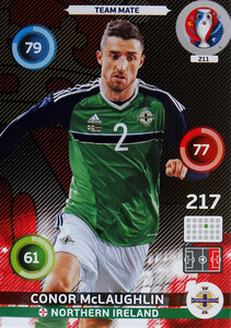 EURO 2016 TEAM MATE Conor McLaughlin #211