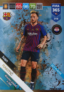2019 FIFA 365  KEY PLAYER RAKITIĆ 318