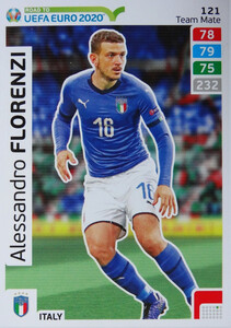 ROAD TO EURO 2020 TEAM MATE Alessandro Florenzi 121