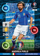 ROAD TO EURO 2016 TEAM MATE Andrea Pirlo #122