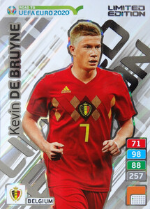 ROAD TO EURO 2020 LIMITED Kevin De Bruyne