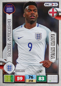 ROAD TO RUSSIA 2018 TEAM MATE ANGLIA STURRIDGE 15