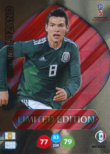 WORLD CUP RUSSIA 2018 LIMITED MEKSYK Hirving Lozano
