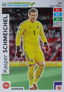 ROAD TO EURO 2020 TEAM MATE  Kasper Schmeichel 37